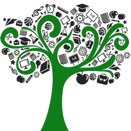 Resources  - Link - Image of a tree.